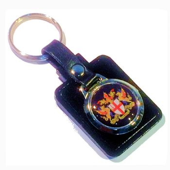 Rectangle keyfob 25mm